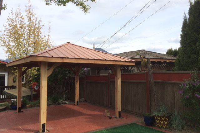 New Backyard Gazebo