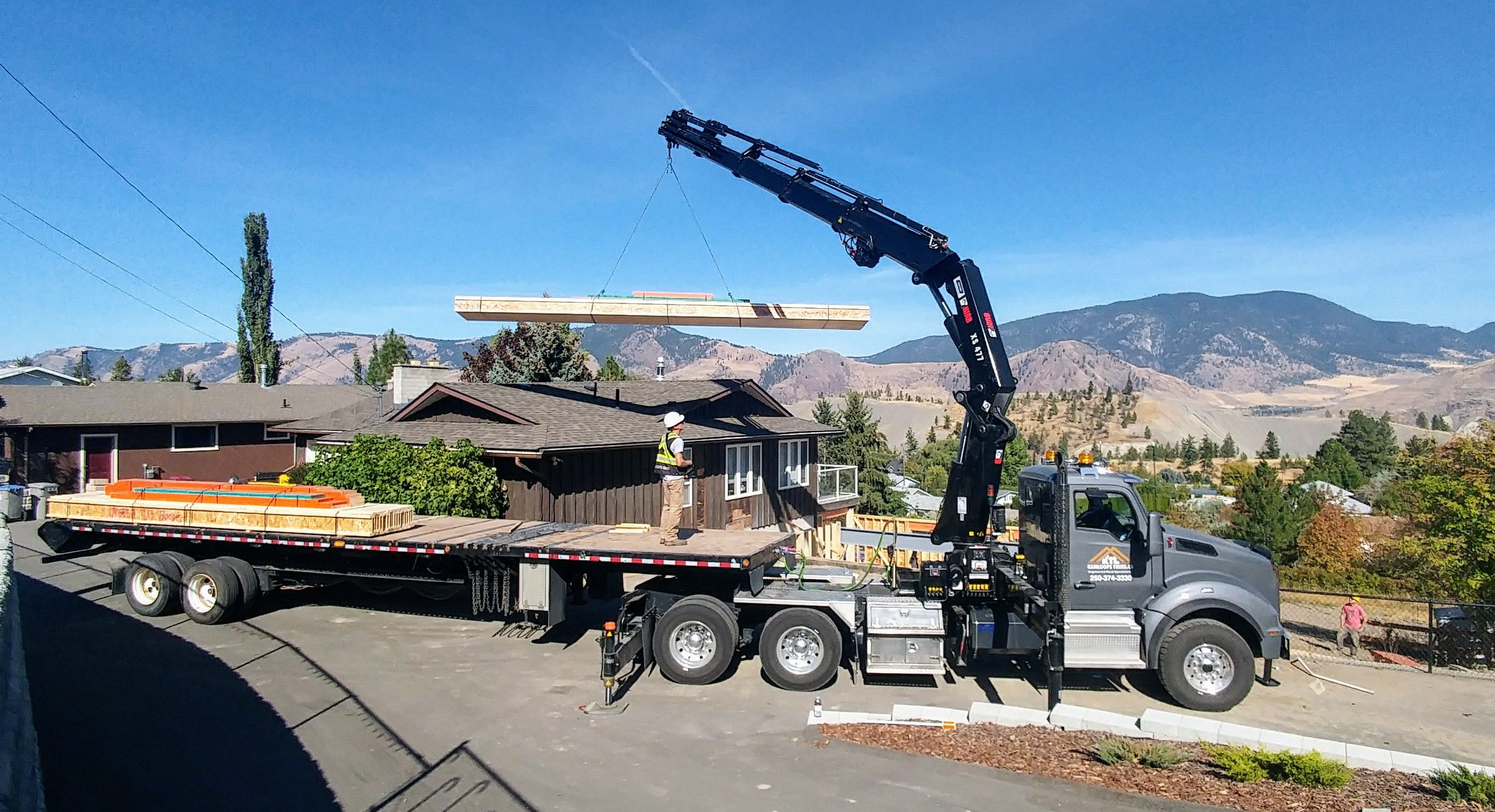 Roller Truck Delivery